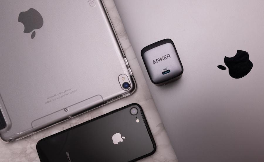 Anker NanoⅡ 65WとApple製品