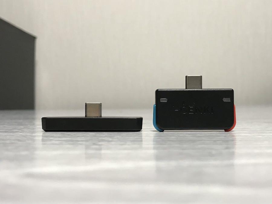 BT-TM800とGENKI Audio比較:高さ