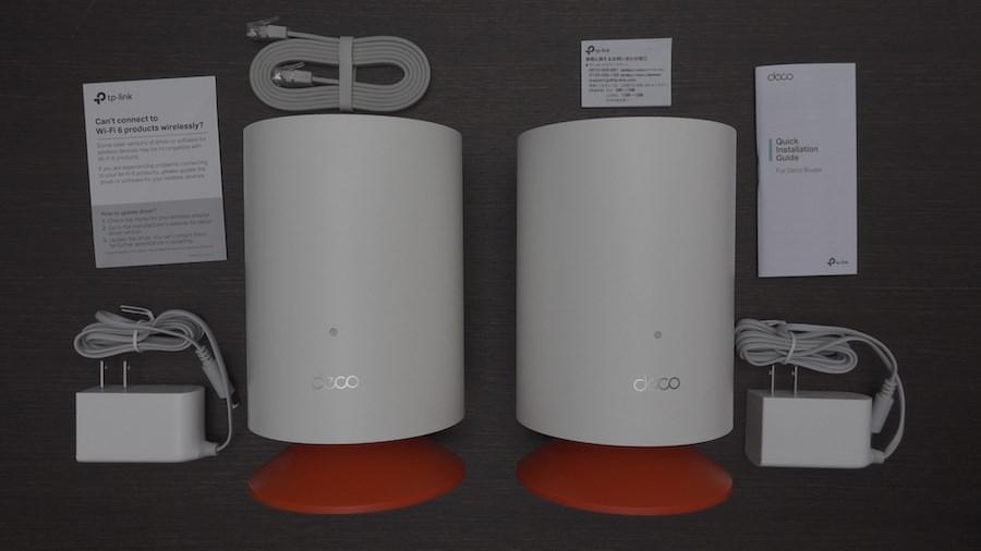Deco Voice X20の同梱物