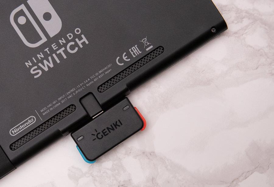 Switchに差すだけで音声をワイヤレス可できる