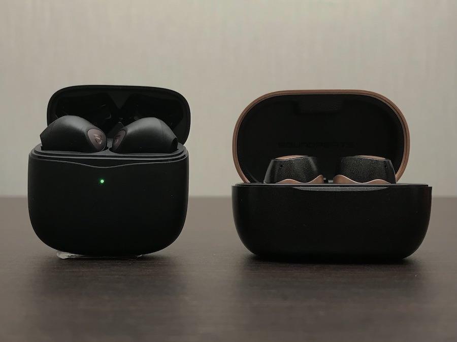 Air3とSonicProの充電ケース比較①